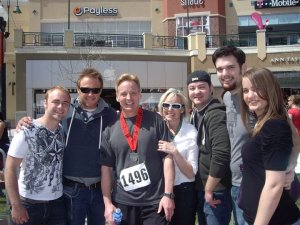 Marathon #1 My Big Fat Happy Gilmore Check!(or how I was tricked into my first marathon)