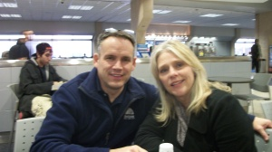 My cousin (in-law) Cindy and her Husband Steve