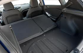 The trunk of a Hyundai makes a crummy bed!