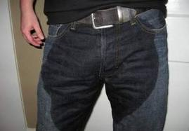 I didn't pee my pants!