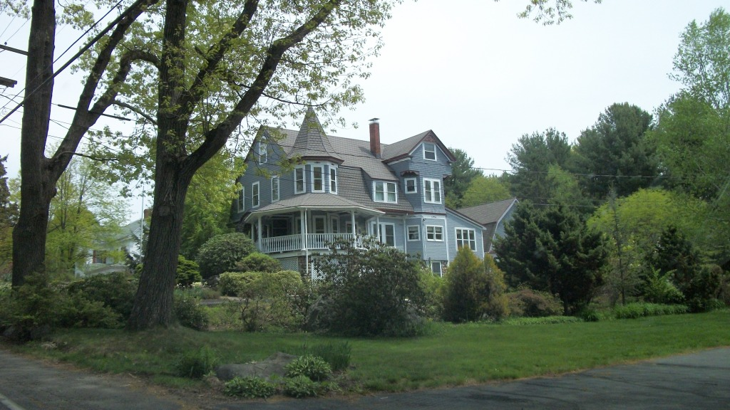 One of many historic New England Homes