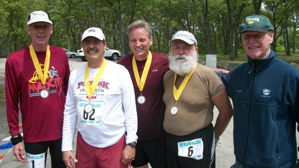 Me and marathon friends, Jim Simpson marathon 1000 +, others all ran marathons 500+ Me.... 22+