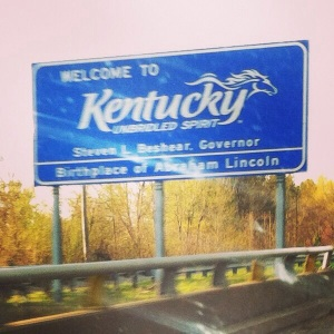 Back to my Kentucky Homeland