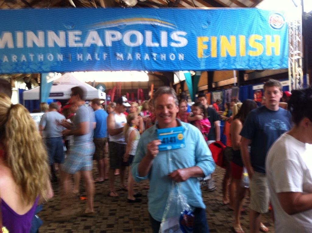 The Expo for theMinneapolis Marathon