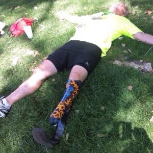 July Marathons are brutal