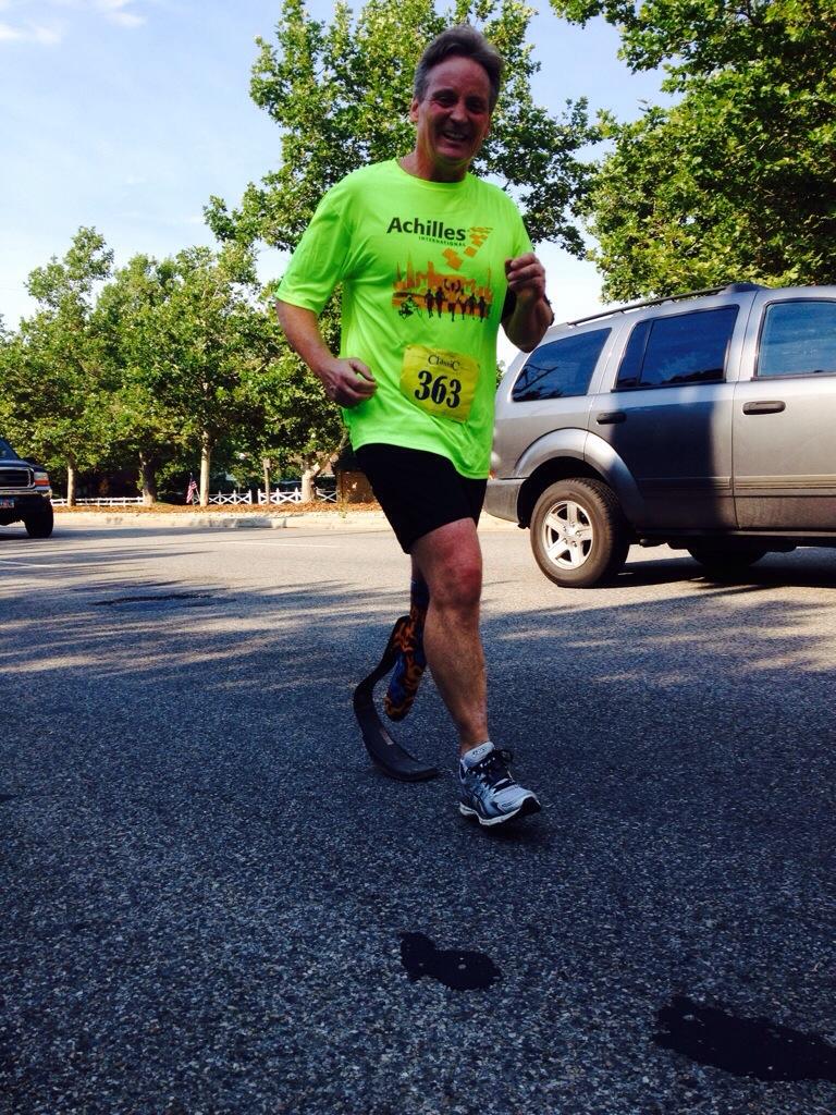 Hey look at me I'm a fool marathon runner.